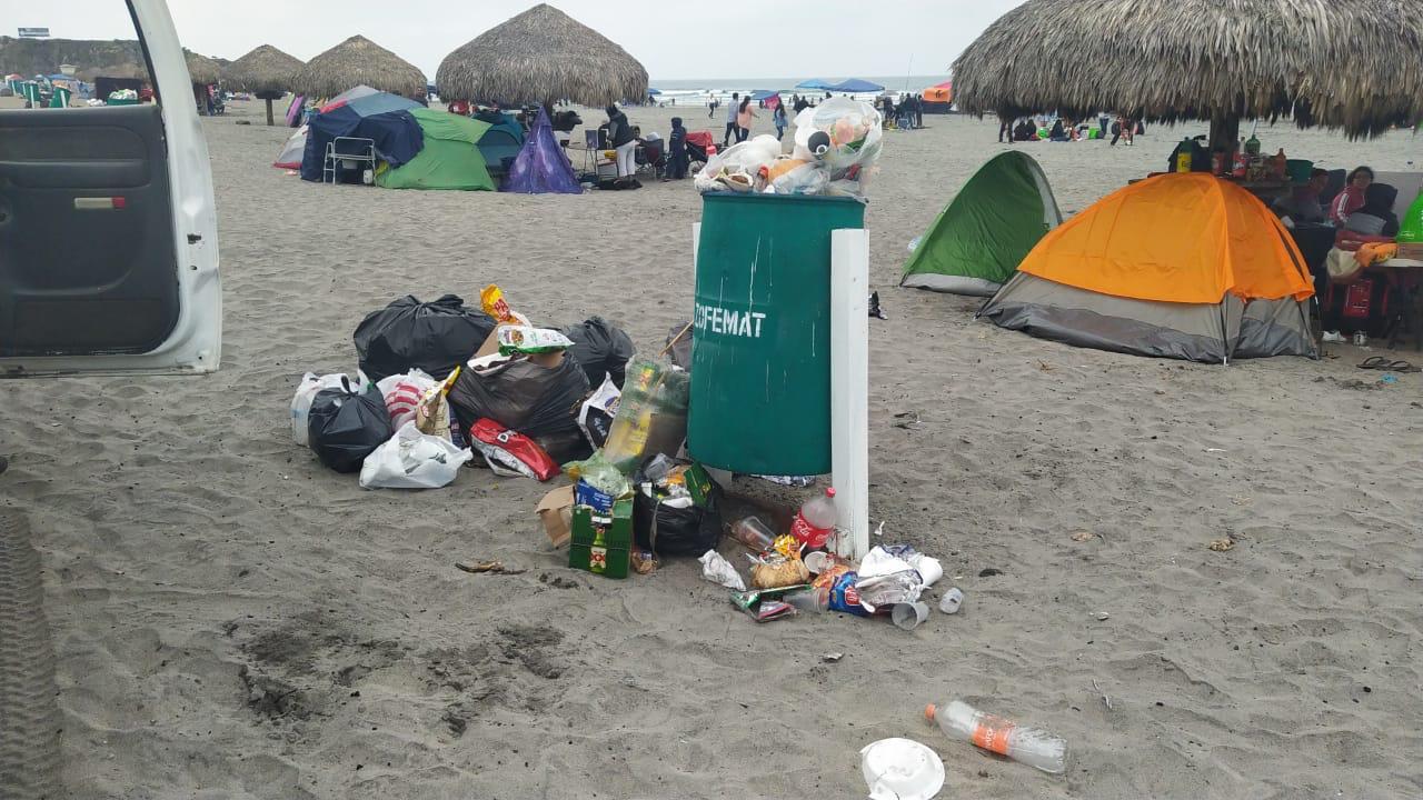Dejan cúmulos de basura en playas de Ensenada - El Mexicano - Gran Diario  Regional